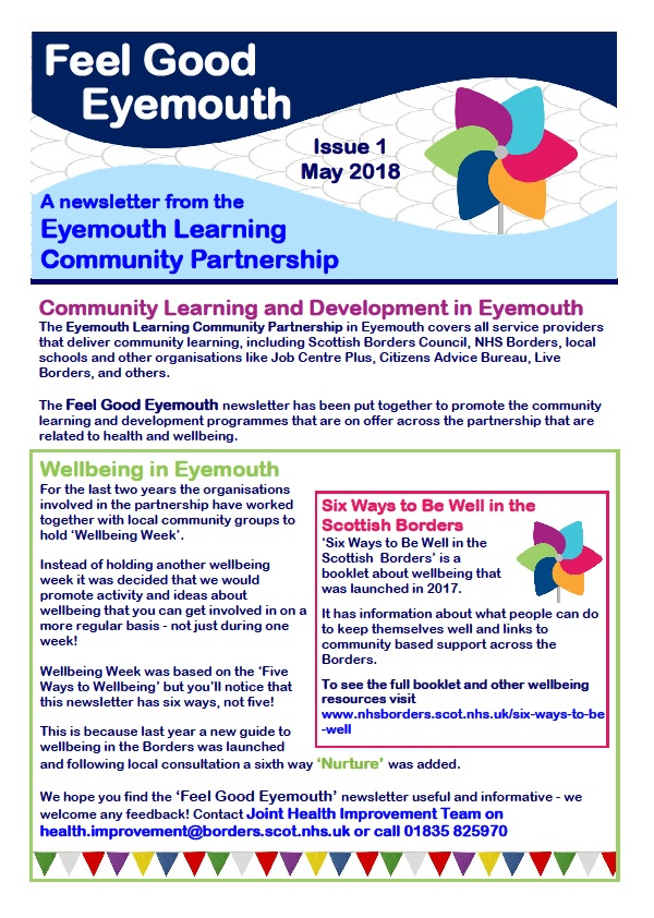 1st Eyemouth Newsletter Newletter