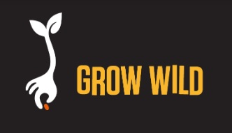 Grow wild logo for website