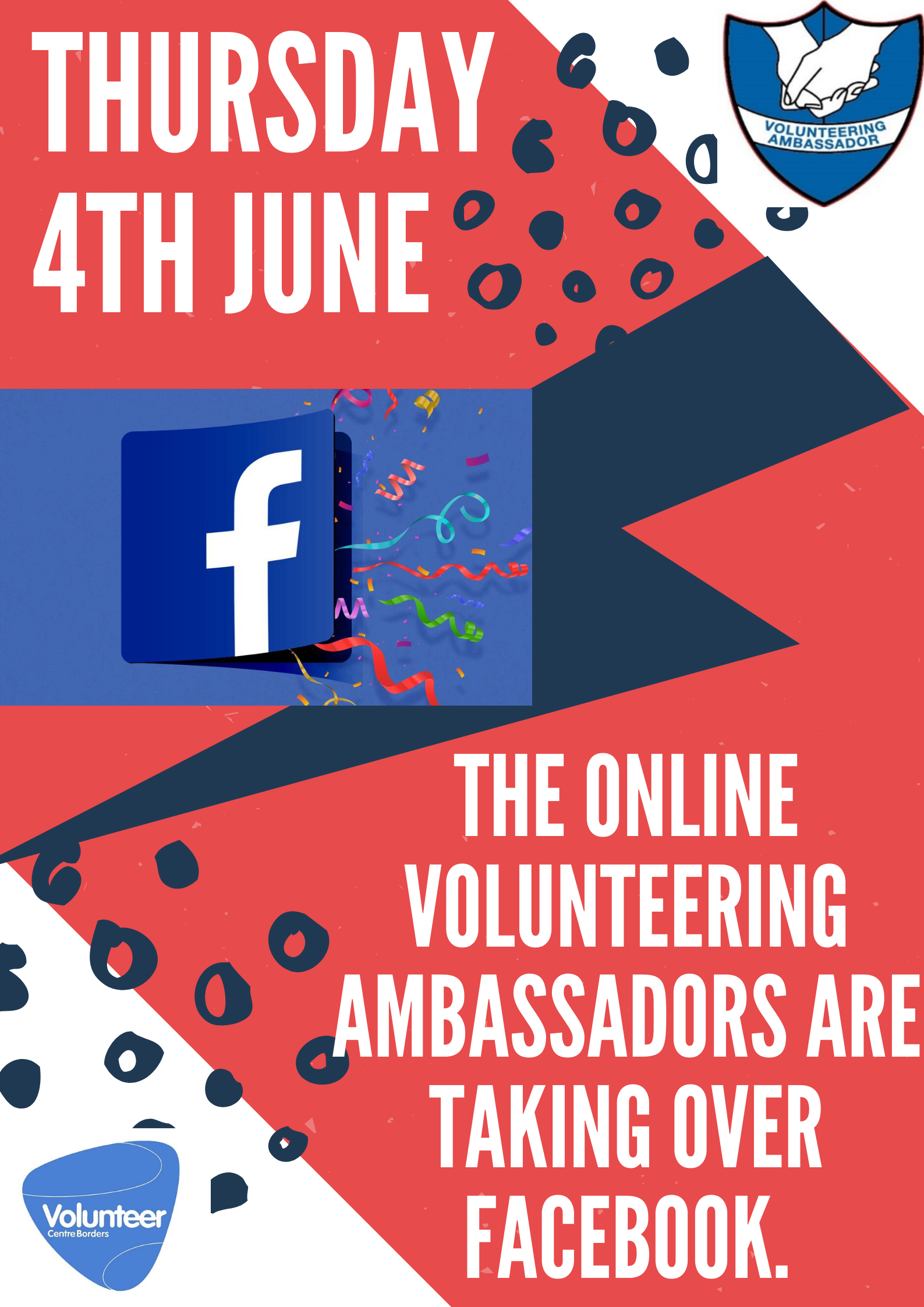 Volunteering Ambassador facebook takeover