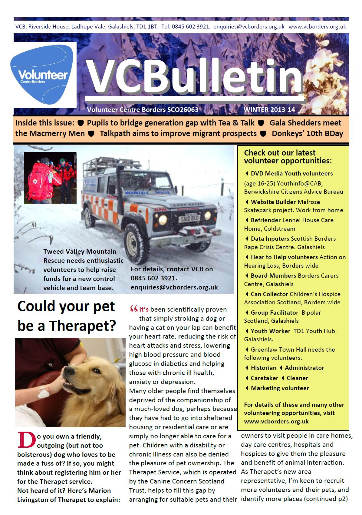 VBulletin Winter 13 14 Cover